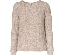 Pullover beige / rosa