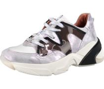 Sneakers schwarz / silber / weiß