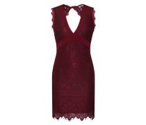 Kleid 'mg3101' burgunder