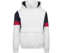 Winter Jacket navy / rot / weiß