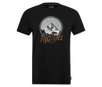 Shirt 'BertinM.' schwarz