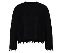 Pullover 'onlIVE 7/8 Pullover Knt' schwarz