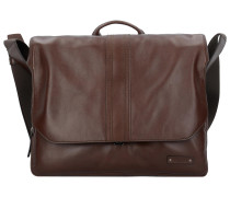 Gordon 1 Messenger Businesstasche Leder 37 cm Laptopfach