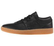 Sneaker cognac / schwarz