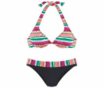 Bügel-Bikini mischfarben / schwarz