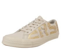 Sneaker 'one Star - OX' gold / offwhite