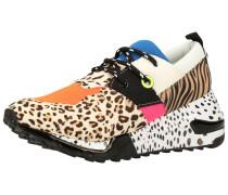 Sneaker mischfarben