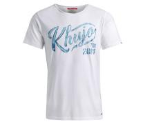 Shirt ' Tagos ' blau / weiß