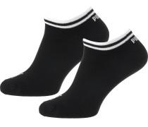 Sneakersocken Heritage schwarz