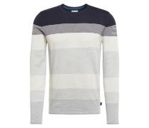 Pullover dunkelblau / grau