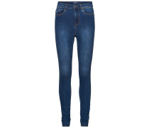 Super Skinny Fit Jeans Nine HW blau