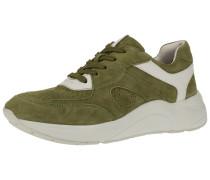 Sneaker weiß / hellgrün