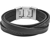 Armband 'jf02998040' grau / schwarz