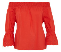 Blusen & Shirts Off-Shoulder-Bluse mit Glockenärmeln