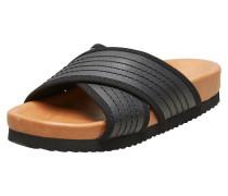 Sandalen braun / schwarz