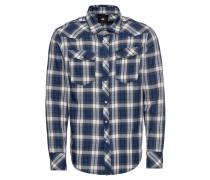 Hemd '3301 slim shirt l\s' indigo