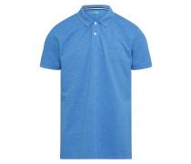 Poloshirt 'po pi mel' blaumeliert