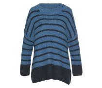 Pullover 'Masche' blau / schwarz