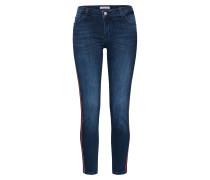 Jeans blau / rot