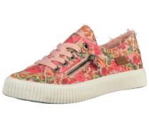 Sneaker hellorange / pink / hellrot