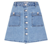 Rock 'onlDITTE Button DNM Skirt' blue denim