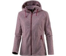 'Yampa Advanced' Fleecehoodie mauve