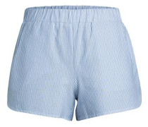 gestreifte Shorts blau