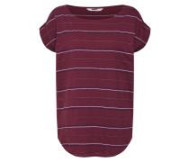 T-Shirt 'Bell' burgunder