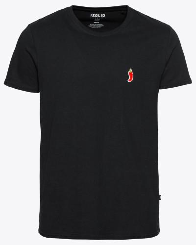T-Shirt 'Rush' schwarz