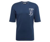 Shirt Jako' dunkelblau / weiß