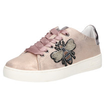 Sneaker 'Fergie' rosé / altrosa / schwarz