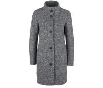 Mantel dunkelgrau / graumeliert