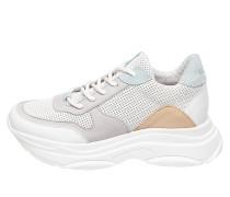 Sneaker 'Zela-P' grau / rosa / weiß