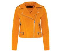 Jacke 'Suede' orange