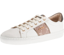 Sneakers 'Coralie' bronze / naturweiß