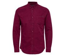 Hemd rotviolett