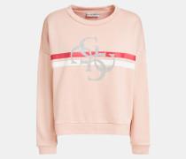 Sweatshirt mischfarben / hellpink