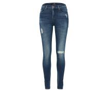Skinny Jeans 'Tanya' blue denim