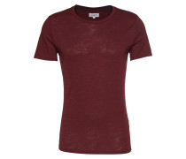 T-Shirt 'The Crew Neck Tee' weinrot