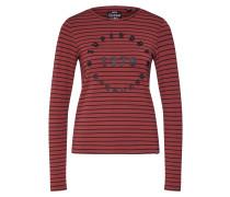 Shirt 'adelina Graphic Top' weinrot