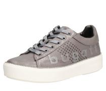 Sneaker 'Kelli' dunkelgrau / silber