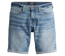 Jeansshort blue denim