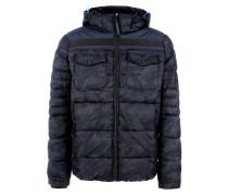 Wattierte Outdoor-Jacke mit Kapuze