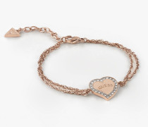 Armband 'Heart Warming' rosegold