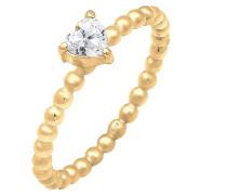 Ring Herz Verlobungsring gold