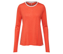 Shirt orange / schwarz / weiß