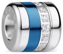 Damen-Charm silber / blau