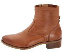 Stiefel mit Reißverschluss braun