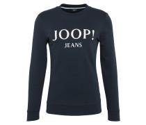 Sweatshirt 'Alfred' dunkelblau / weiß