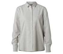 Bluse beige / graumeliert